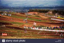 motocross race tracks duns motocross scottish borders scotland stock photo royalty