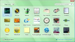 gadgets bureau windows 8 pc astuces 10 gadgets pour windows vista