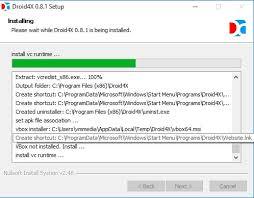 apk installer from pc droid4x offline installer on pc computer running on