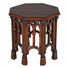 Gothic Revival Home Gothic Revival End Table Wayfair There U0027s No Place Like Home