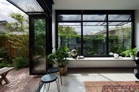 century old melbourne home gets a stylish u0027box u0027 garden room extension