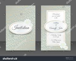 wedding backdrop design vector vintage wedding invitation templates cover design stock vector