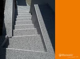 steinteppich verlegen treppe marmorix steinteppich verlegebeispiele treppen