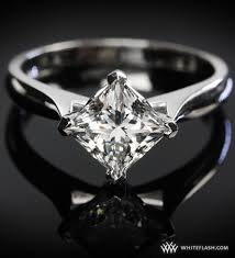 unique princess cut engagement rings unique princess cut solitaire engagement ring i how it s