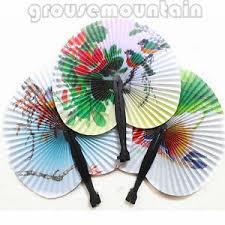 hand held folding fans fan retro oriental hand held folding paper fans wedding gifts