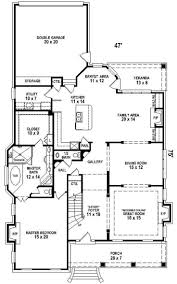 apartments 2 story house plans master bedroom downstairs house