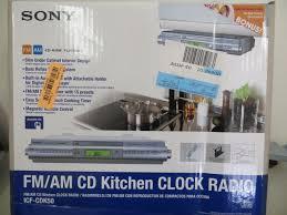 under kitchen cabinet radio