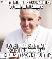 Pope Meme - pope francis why not both memes imgflip
