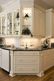 Glass Cabinet Kitchen Doors 155 Best Glass Cabinets Images On Pinterest Kitchens Kitchen