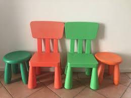 indoor outdoor furniture ideas ikea mammut plastic kids childrens stool chair indoor outdoor set
