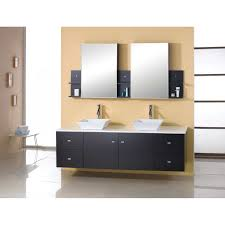 wall mounted sink cabinet virtu bathroom vanity 72 solid wood dark espresso double sink ag x027