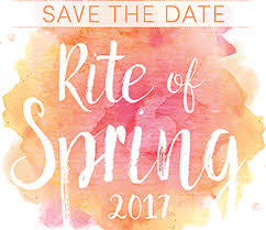 Save The Date Website Save The Date Cag U0027s Rite Of Spring Gala On June 6 2017 Concert