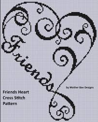 smashwords friends cross stitch pattern a book by