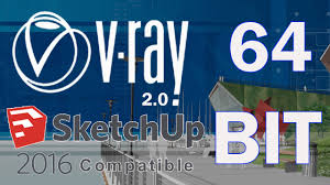 vray 2 0 for sketchup 2016 full with free download