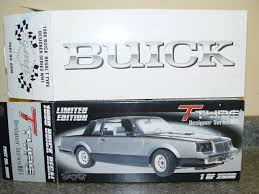 1 18 scale gmp 8008 1986 buick regal t type wh1