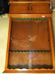 Glass Gun Cabinet Corpusfishing Com View Topic Gun Display Cabinet For Sale