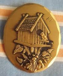 wendell august jewelry free vintage wendell august forge solid bronze birdhouse pendant