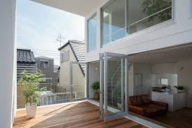 three story house balcony of three story home u2013 modern house