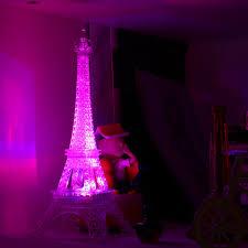 veilleuse chambre romantique creative tour eiffel led nuit lumière bureau chambre