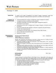 Resume Objective Examples For Management by Resume Objective Examples For Construction Free Resume Example