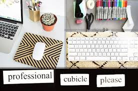 Decorating Desk Ideas Ways To Make Your Cubicle Less