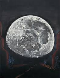 big moon illusion astronomy sketch of the day