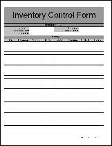 Simple Inventory Sheet Template Free Inventory From Formville