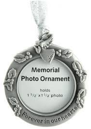 memorial ornaments photo frame ornamen
