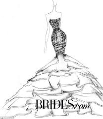 kim kardashian u0027s wedding gown imagined by bridal designers daily