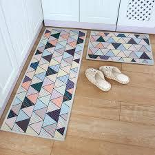 teppich k che yazi geometrie baumwolle anti rutsch teppich küche teppich boden