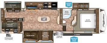 silverback rv floor plans montana 3950br mid bunk floor plan office u0026 bunk 41 u0027 no os