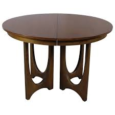 Broyhill Dining Room Sets Mid Century Modern Broyhill Brasilia 6140 1645 Round Pedestal Base