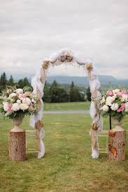 wedding arches made from trees best 25 country wedding arches ideas on