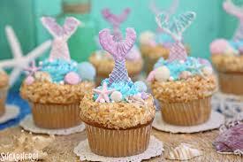 mermaid cupcakes sugarhero