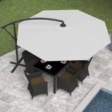 Cantilever Umbrella Toronto by Patio Furniture Patio Ideas Large Cantilever Umbrella With Wooden