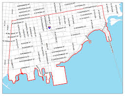 Chicago City Limits Map by Map Of Pensacola Fl My Blog