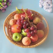 Basket Of Fruit Basket Plastic Picture More Detailed Picture About Round Wicker