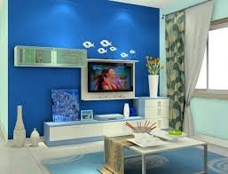 cool blue living room color design ideas interior design