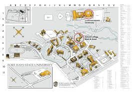 Arizona State University Campus Map by Graduation Fort Hays State University