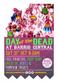 day of the dead halloween party barrio soho london designmynight