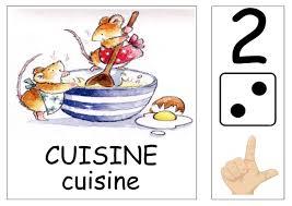 atelier cuisine maternelle affiches pour coins ateliers version souris maitresse myriam