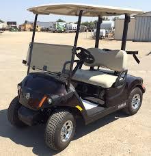 2018 yamaha electric golf cart metallic brown johnson manufacturing