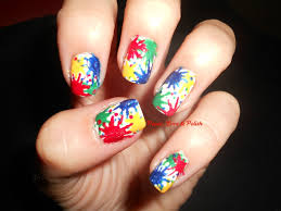 34 unusual splatter nail art images design nail art paint splatter