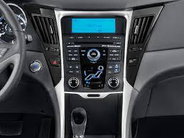 2012 hyundai sonata instrument panel interior photo automotive com