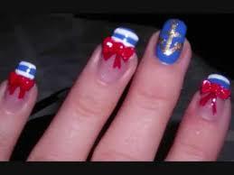 sailor nails tutorial youtube