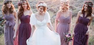 bridesmaid dress ideas purple wedding color ideas beautiful bridesmaid dresses and