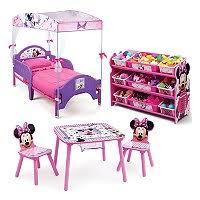 Minnie Mouse Rug Bedroom Delta Children Minnie Mouse 4 Piece Twin Bedroom Set Sam U0027s Club