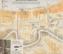 Map Of New Orleans Area by New Orleans Louisiana Hurricanes