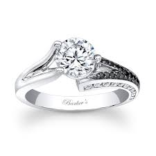 black and white engagement rings barkev s black white engagement ring 7873lbk