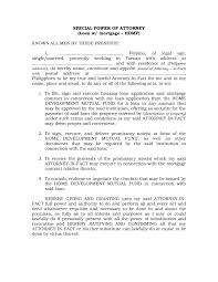 Authorization Letter Format For Internet Connection sample poa letter